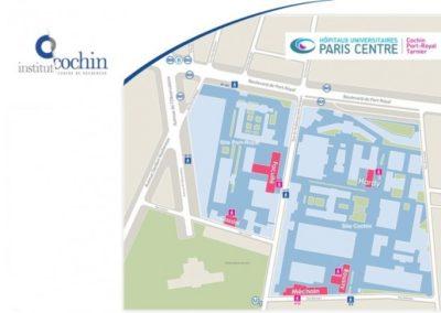Réalisation de gestion de sas pour l'Hôpital Cochin Paris (75) 14ème
