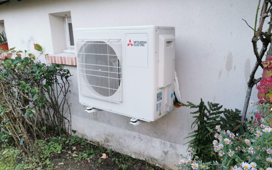 Climatisation d'une maison à Saint Amand Montrond (18)
