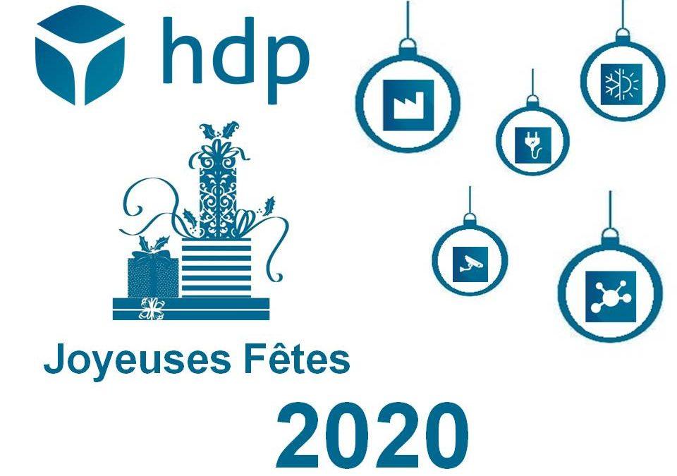 HDP vous souhaite ses meilleurs vœux pour 2020